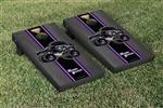 Monster Jam Mohawk Warrior Cornhole Game Set Onyx Stained Stripe Version