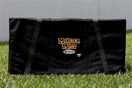 Monster Jam Monster Mutt Rottweiler Cornhole Carrying Case