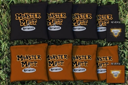 Monster Jam Monster Mutt Rottweiler Replacement Cornhole Bag Set (All-Weather)