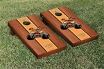 Monster Jam Monster Mutt Cornhole Game Set Rosewood Stained Version