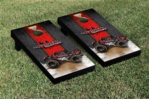 Monster Jam Northern Nightmare Cornhole Game Set Vintage Version