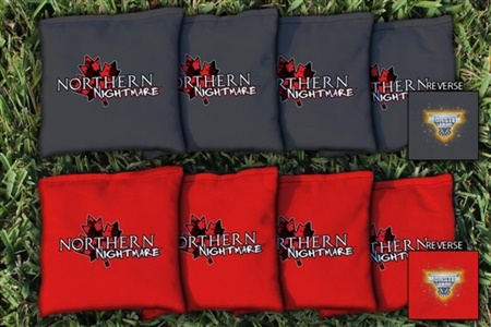 Monster Jam Northern Nightmare Replacement Cornhole Bag Set (All-Weather)