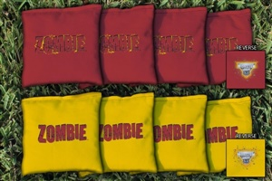 Monster Jam Zombie Replacement Cornhole Bag Set (Corn-Filled)