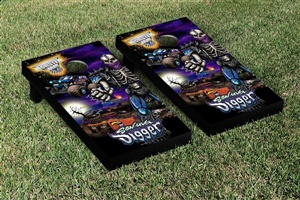 Monster Jam Son Uva Digger Cornhole Game Set Creature Version