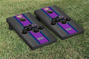 Monster Jam Son Uva Digger Cornhole Game Set Onyx Stained Version
