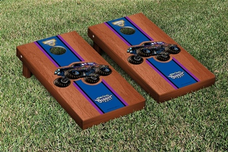 Monster Jam Son Uva Digger Cornhole Game Set Rosewood Stained Version