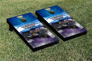 Monster Jam Son Uva Digger Cornhole Game Set Smoke Version