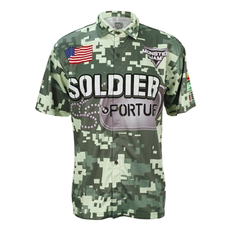 Soldier Fortune Driver Shirt