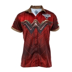 Wonder Woman Ladies Driver Shirt