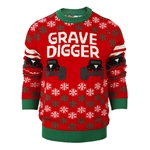 Grave Digger Ugly Holiday Sweater