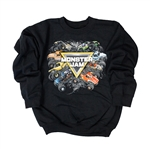 Youth Monster Jam Tough Sweater