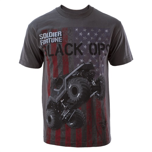 Soldier Fortune Black Ops Flag Tee