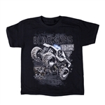 Monster Jam Soldier Fortune Black Ops Youth Tee