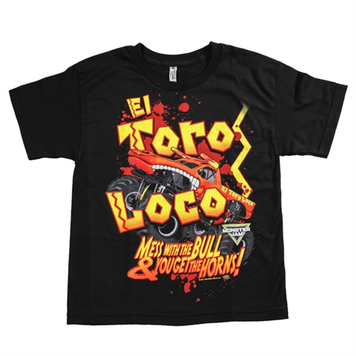 El Toro Loco Header Youth Tee