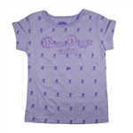 Grave Digger Girls Skully Tee