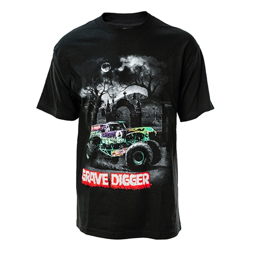 Spooky Grave Digger Tee