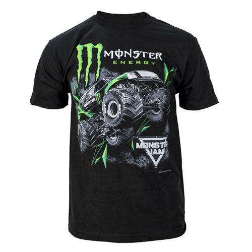Monster Energy Jump Black Tee