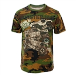 Camo Monster Jam World Tour Tee