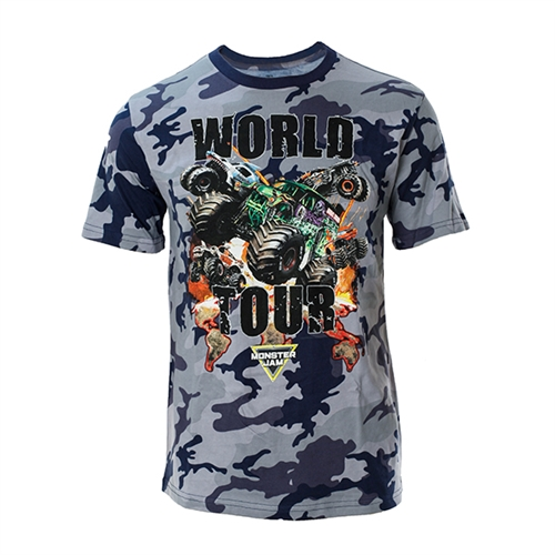 Blue Camo World Tour Tee