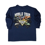 Youth Long Sleeve 2019 World Tour Tee