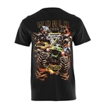 Monster Jam Wold Tour Black Tee