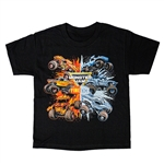 Monster Jam Fire & Ice Youth Tee