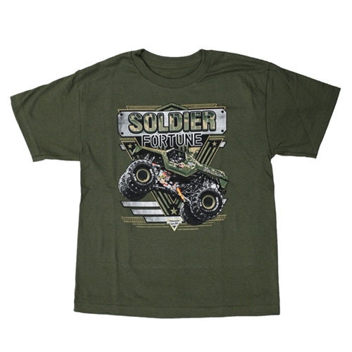 Solider Fortune Green Youth Tee