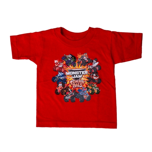 Truckin' Pals Red Toddler Tee
