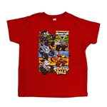 Red Toddler's Truckin'Pals Tee