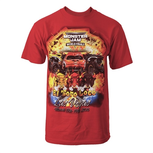 World Finals XVII Team El Toro Loco Youth Red Tee