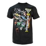 Monster Jam World Finals Black Lava Tee
