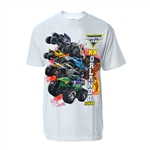 2019 MJ World Finals White Lava Tee