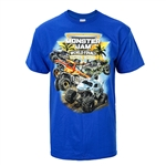 2019 MJ World Finals Blue Palms Tee