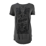 Whiplash Lace Up Tee