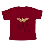 Wonder Woman Stars Youth Tee