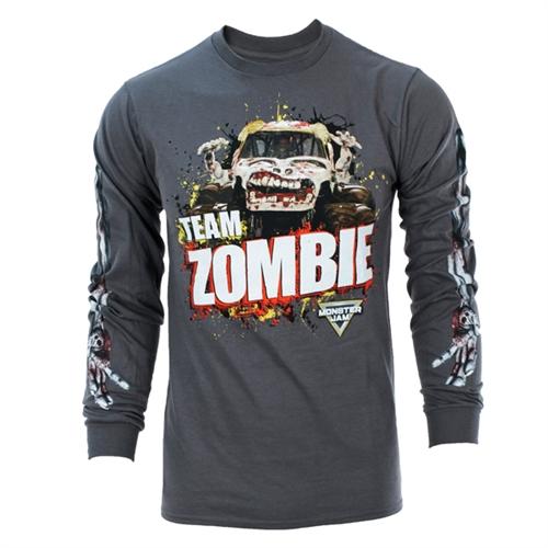 70b409ae482e Monster Jam Zombie Long Sleeve