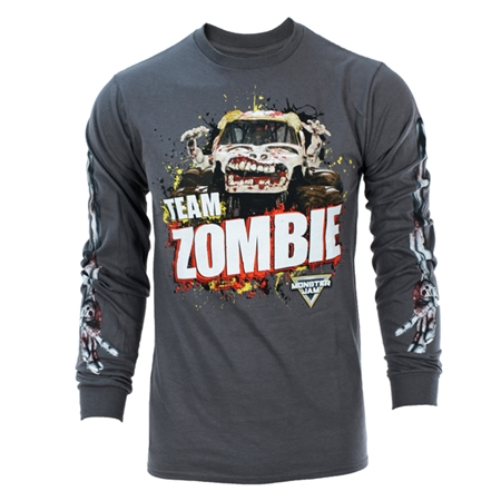 Monster Jam Zombie Long Sleeve