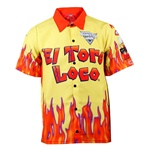 El Toro Loco Yellow Driver Shirt