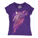 Grave Digger Girls Collage Tee