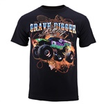 Grave Digger Scrolls Tee