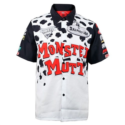 Monster Mutt Dalmatian Driver Shirt