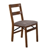 Stakmore Retro Upholstered Back Folding Chair