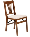 Stakmore Urn Back Folding Chair