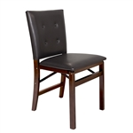 Stakmore Parson Upholstered Back Folding Chair