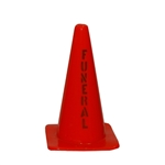 "18"" Polyvinyl Traffic Cones"