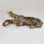 Brass Mass Card Holder Hand Clip