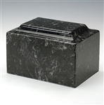 Ebony Cultured Marble Urn
