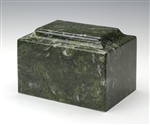 Verde Ionian Cultured Marble Urn