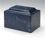 Navy Cultured Marble Urn