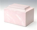 Pink Ionian Cultured Marble Urn